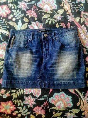 Blend Gonna di jeans blu scuro