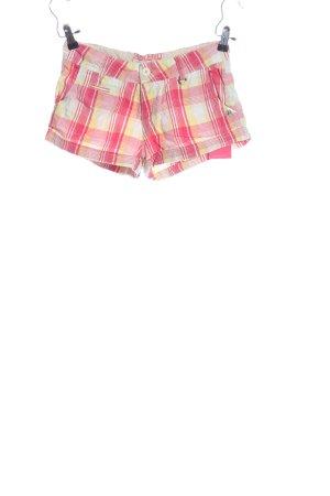 Blend Hot pants motivo a quadri stile casual