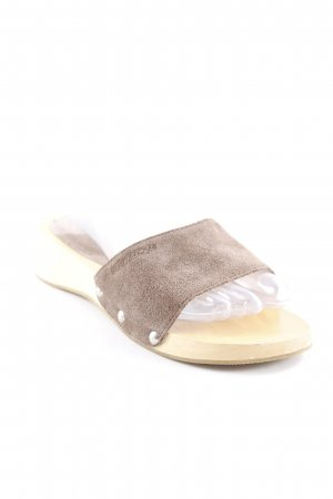 Blend Comfort Sandals brown Logo application (leather)