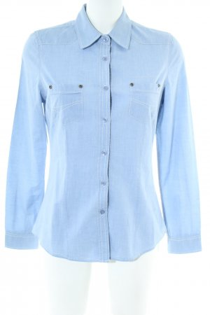 Blend Long Sleeve Blouse blue casual look