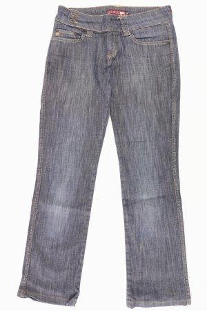 Blend Jeans a gamba dritta blu-blu neon-blu scuro-azzurro Cotone
