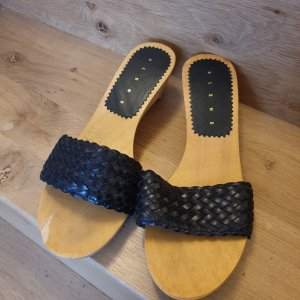 Blend Wedge Sandals black