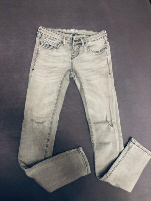 Blend She Jeans cigarette gris clair