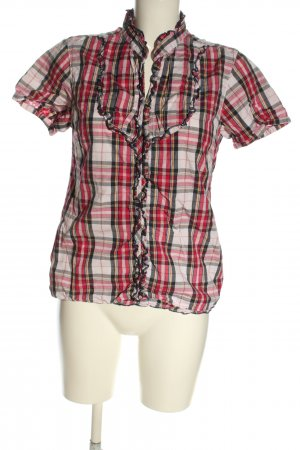 Blend She Shirt Blouse check pattern casual look