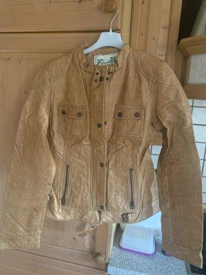 Blend Biker Jacket cognac-coloured