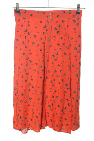 Blend She Midi Skirt red allover print casual look