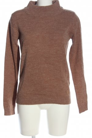 Blend She Turtleneck Sweater brown casual look