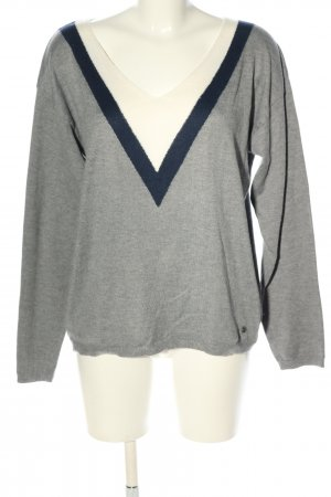 Blend She V-Neck Sweater multicolored casual look