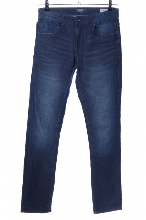 Blend Slim Jeans blau Casual-Look