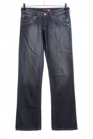 Blend Straight Leg Jeans blue casual look