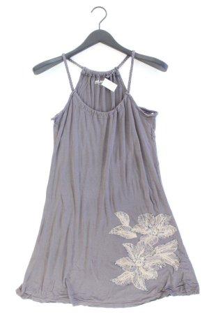 Blend Trägerkleid Größe S mit Blumenmuster grau aus Viskose