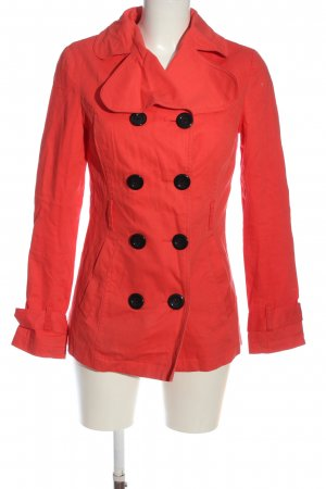 Blend Between-Seasons-Coat red-black casual look