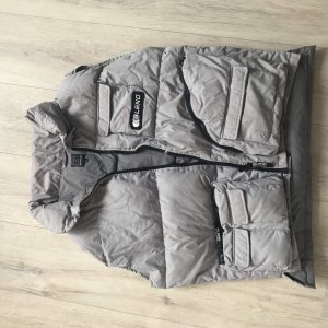Blend Quilted Jacket silver-colored-grey