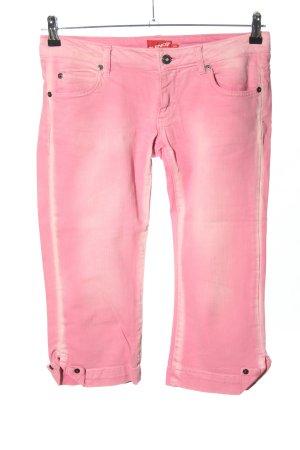 BlendShe 3/4-jeans roze casual uitstraling