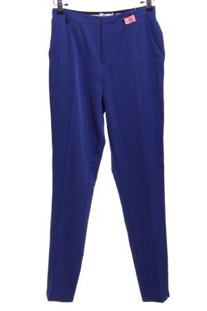 BlendShe Spodnie 7/8 niebieski W stylu biznesowym