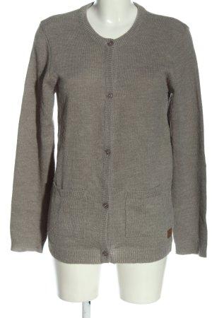 BlendShe Cardigan light grey flecked casual look