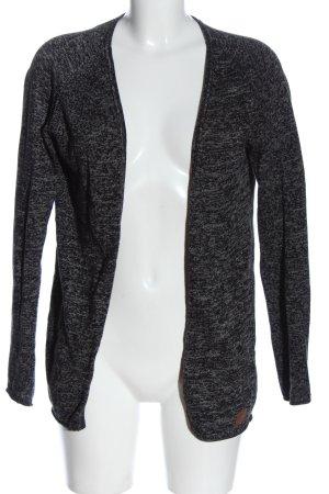 BlendShe Cardigan black flecked casual look