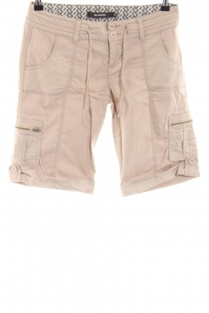 BlendShe High-Waist-Shorts creme Casual-Look