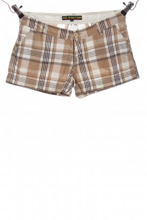BlendShe Hot Pants Allover-Druck Casual-Look