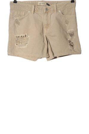 BlendShe Denim Shorts cream casual look