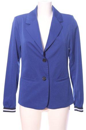 BlendShe Krótka marynarka niebieski W stylu biznesowym