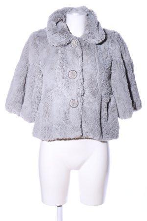 BlendShe Short Jacket light grey casual look