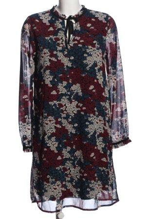 BlendShe Sukienka z długim rękawem Na całej powierzchni W stylu casual