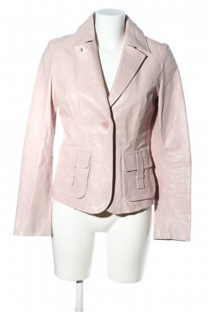 BlendShe Leather Jacket pink casual look