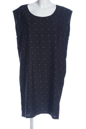 BlendShe Mini Dress blue-white spot pattern casual look
