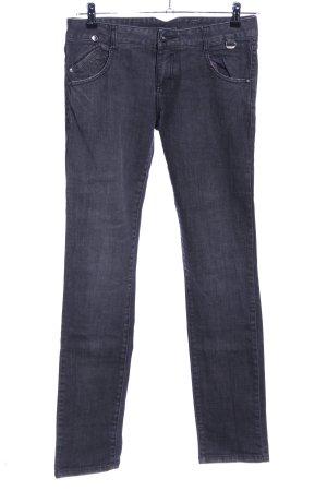 BlendShe Tube jeans lichtgrijs casual uitstraling