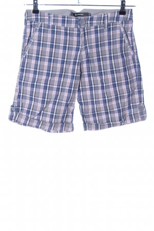 BlendShe Shorts check pattern casual look
