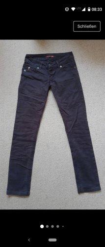 BlendShe Jeans coupe-droite gris foncé