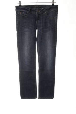 BlendShe Straight-Leg Jeans schwarz Casual-Look