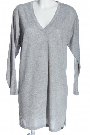 BlendShe Knitted Jumper light grey flecked casual look