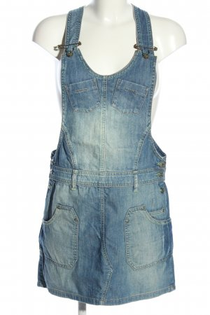 BlendShe Pinafore dress blue casual look