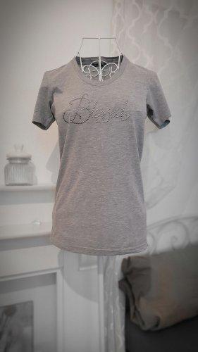 Blessed & Cursed Shirt met print grijs
