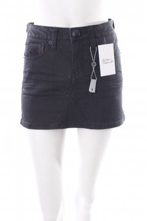 Blessed & Cursed Mini rok zwart casual uitstraling