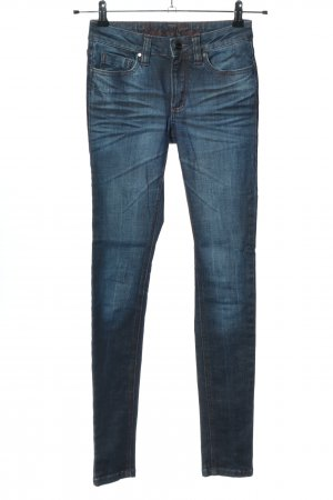 Blessed & Cursed Skinny Jeans blue casual look