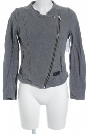 Blessed & Cursed Sweat Jacket grey casual look