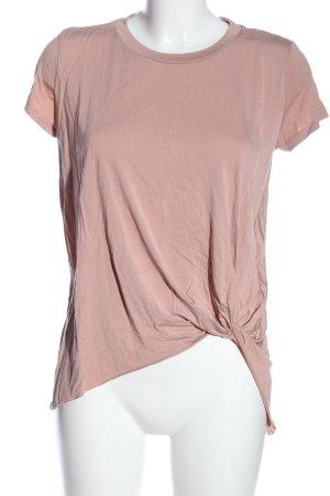 bleuh ciel Camicetta a maniche corte rosa stile casual