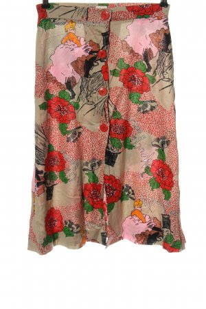 Bleyle Midi Skirt flower pattern casual look