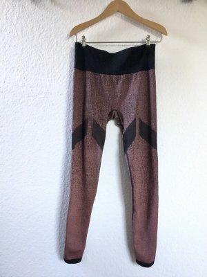 Adidas Pantalone da ginnastica multicolore Tessuto misto