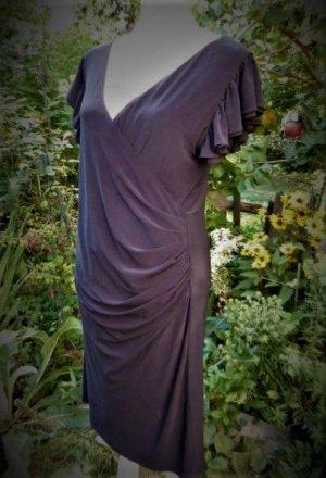 BLICKFANG Gr 42 JOSEF RIBKOFF Kleid Neupreis ca. 200Euro  nur wenig getragen stretchig Wickeloptik schöner Reissverschluss am Rücken schöne Ärmel          die Büste hat Gr. 36...