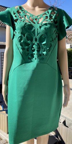 Blickfang Hingucker Sommer Knaller Boutique Kleid grün Blickfang Hingucker 44 46 cut Out Flügel Ärmel Knaller Kleid grün Gr. 44-46 Achselbreite ca. 54 cm Länge ca. 94 cm