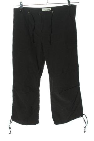 Blind Date Pantalon 3/4 noir style décontracté