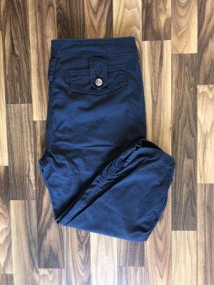 Blind Date 3/4 Hose kurze Hose Stoffhose Shorts Denim blau Größe L Damen