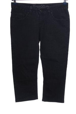 Blind Date 3/4-jeans zwart casual uitstraling