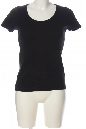 Blind Date Basic Shirt black cable stitch casual look