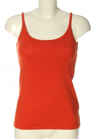 Blind Date Top basic rosso stile casual