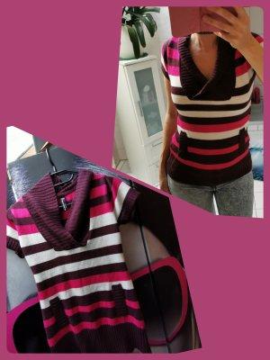 BLIND DATE ♥ Bequemes Strickshirt, schöner Ausschnitt, tolle Farben Gr. 36 S